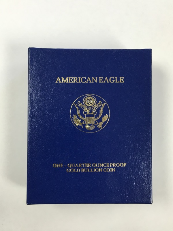 1/4 oz Gold American Eagle - 1991 - Proof