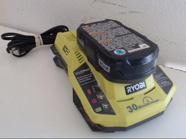 RYOBI Battery/Charger P117