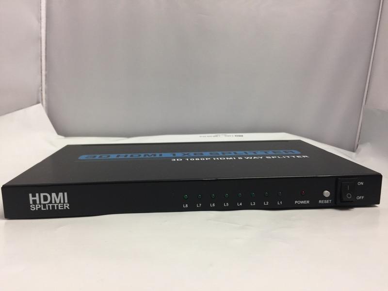 Zlink 3D, HDMI 8 Port Powered Splitter