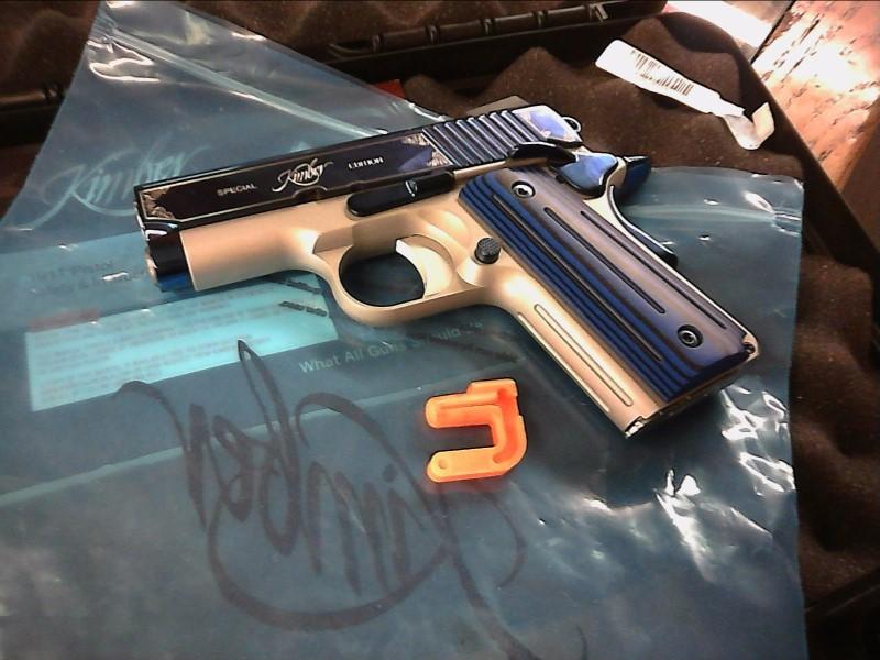 KIMBER Pistol SAPPHIRE ULTRA II .9mm - Like New!