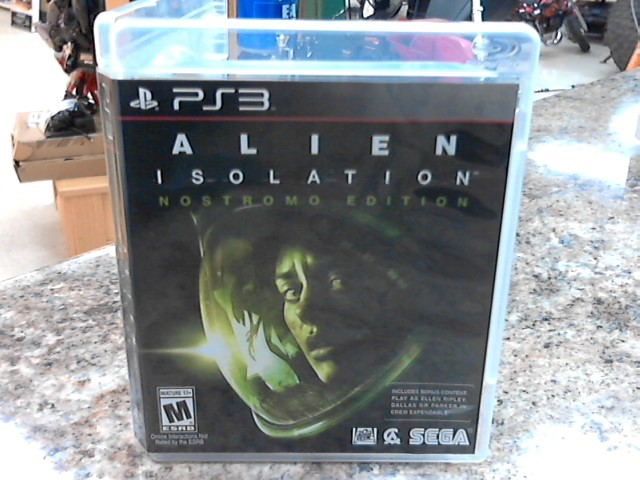 SONY Video Game Accessory PS3 ALIEN ISOLATION