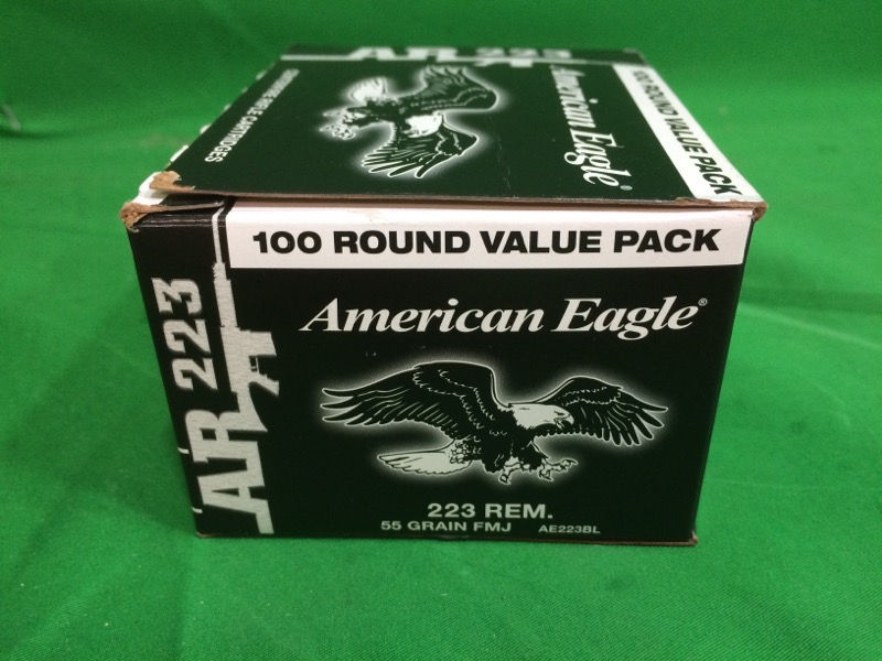 Federal® American Eagle .223 Remington 55-Grain Centerfire Ammunition