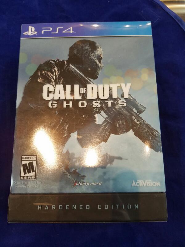 Sony PlayStation 4 Game CALL OF DUTY GHOSTS HARDENED EDITION PS4