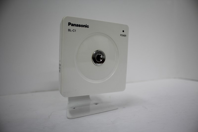 PANASONIC  BL-C1A SECURITY CAMERAS 4 UNITS AND 2 LONG CORDS