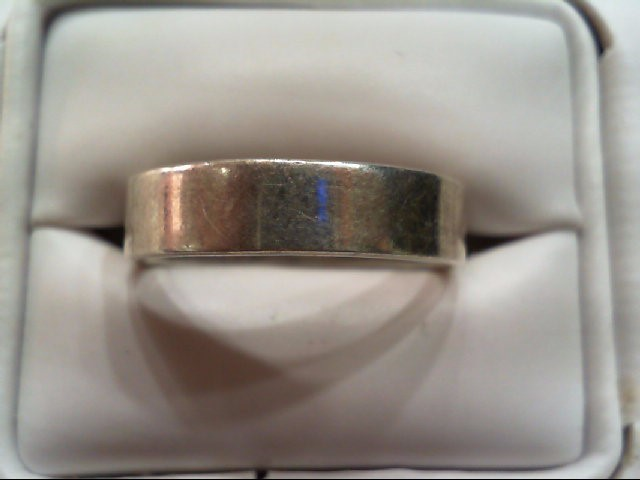 Very Nice Well Made Quality Gent's Silver Wedding Band 925 Silver 5.1grams