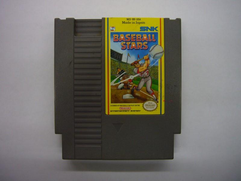NINTENDO NES Game BASEBALL STARS *CARTRIDGE ONLY*