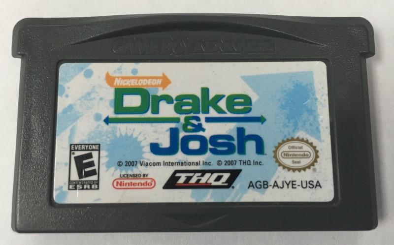 DRAKE & JOSH NINTENDO GAME BOY ADVANCE 2007