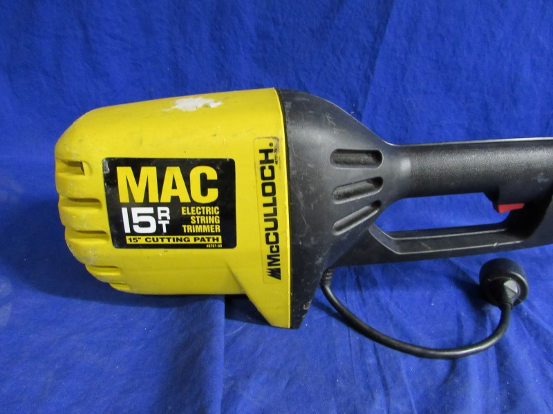 MCCULLOCH MAC 15RT LAWN TRIMMER
