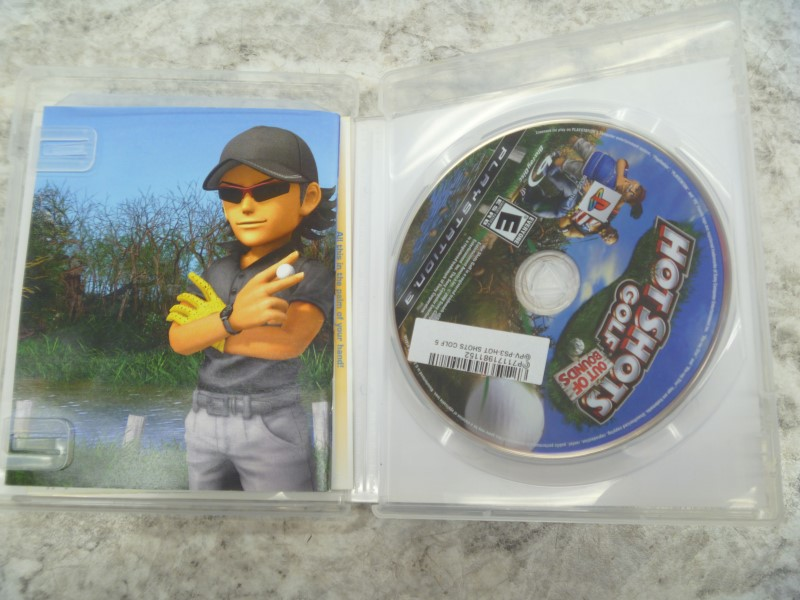SONY HOT SHOTS GOLF: OUT OF BOUNDS (PS3)