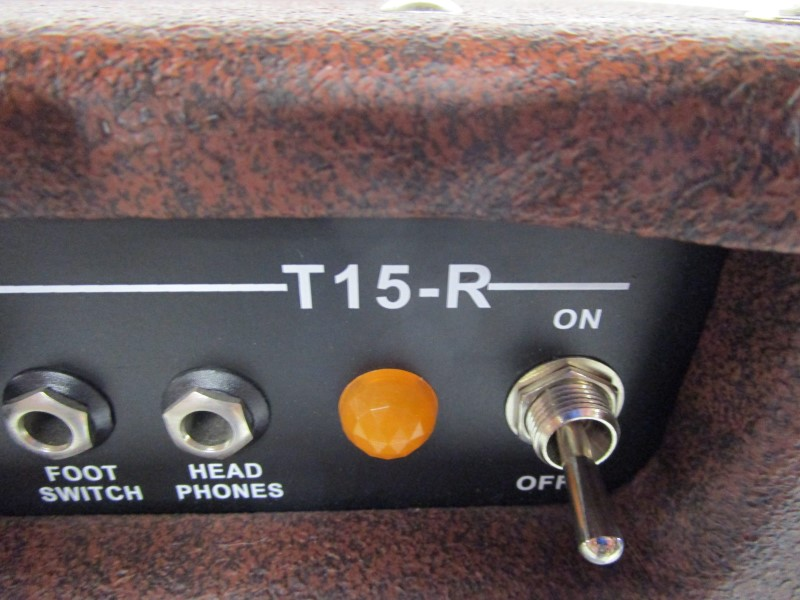 JOHNSON T15RR 15 WATT HYBRID TUBE GUITAR AMPLIFIER