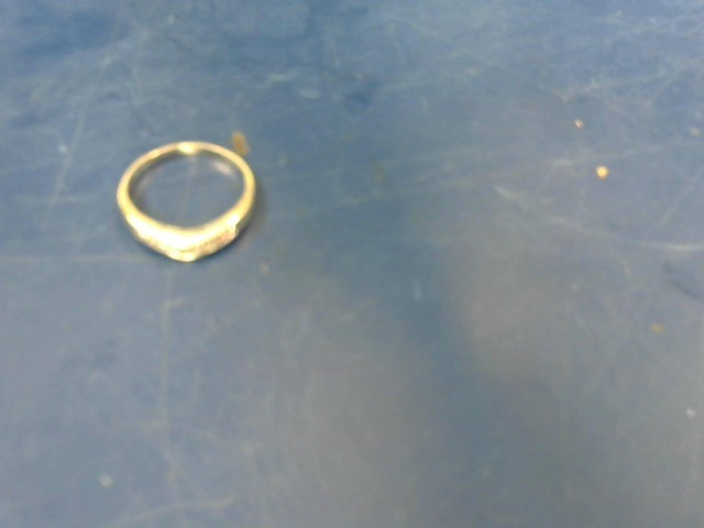 Lady's Diamond Solitaire Ring 13 Diamonds .94 Carat T.W. 14K White Gold 6.17g