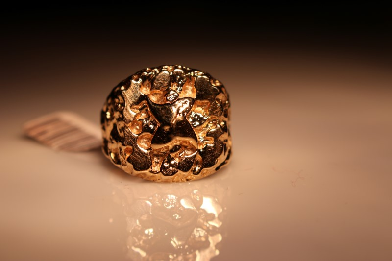 Gent's Gold Ring 14K Yellow Gold 6.69g