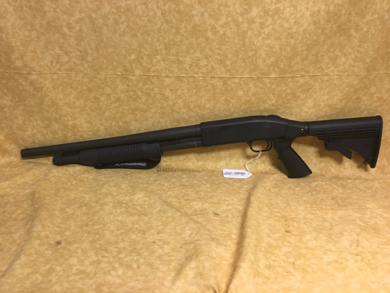 Mossberg 500 Tactical 12ga Shotgun - Adjustable Stock