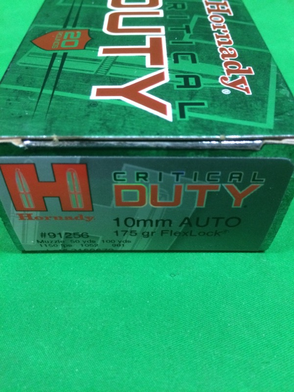 HORNADY Ammunition CRITICAL DUTY 10MM