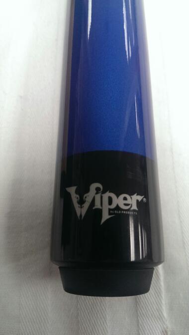 VIPER PRO POOL CUE BLUE