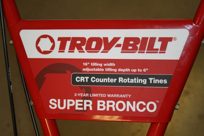 TROY BILT SUPER BRONCO CRT