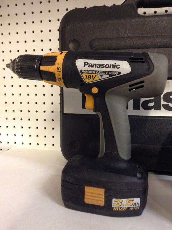 PANASONIC Cordless Drill EY6950