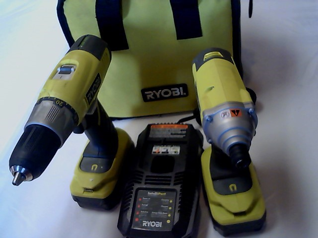RYOBI Combination Tool Set P271 COMBO SET