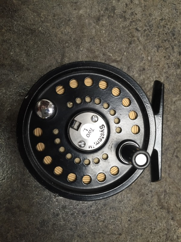 SYSTEM 2 56L! FLY FISHING REEL WITH EXTRA SPOOL