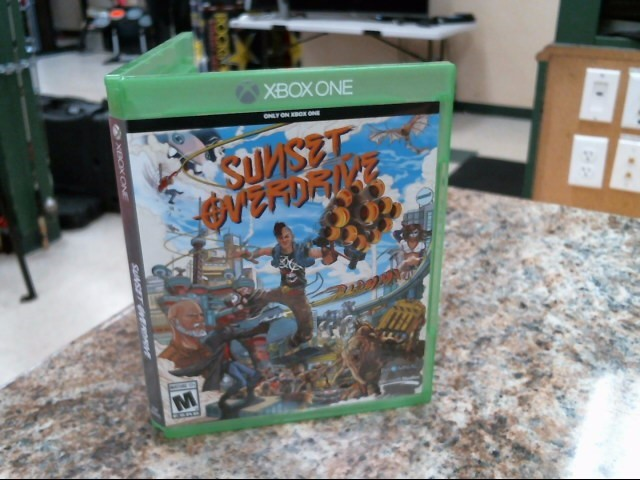 NINTENDO Microsoft XBOX One Game SUNSET OVERDRIVE