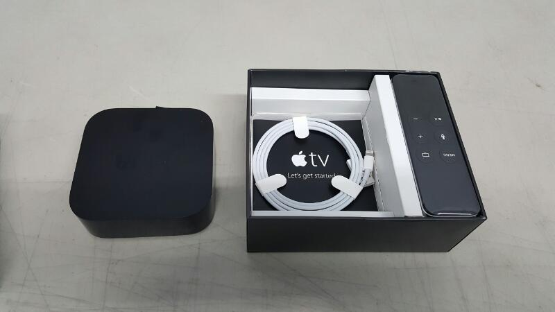 Apple TV 4th Generation 64GB (MLNC2LL/A, A1625)