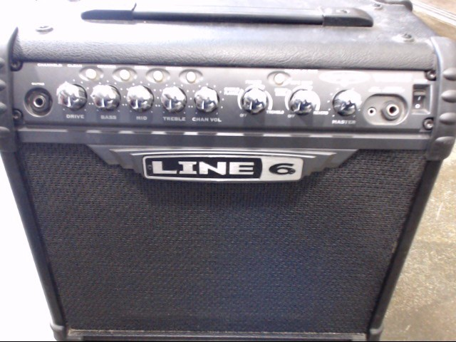 LINE 6 Electric Guitar Amp SPIDER 3 AMP