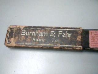 BURNHAM & FEHR