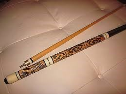 GOLDEN SHARK POOL CUE