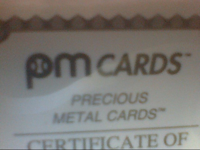 PM CARDS
