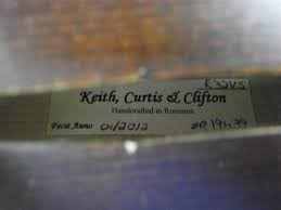 KEITH CURTIS AND CLIFTON