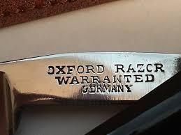 OXFORD RAZOR