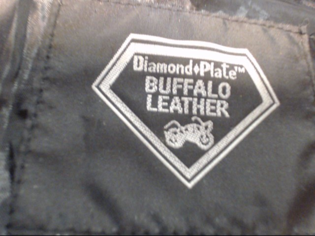DIAMOND PLATE LEATHER