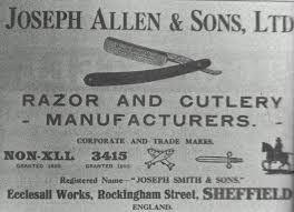 JOSEPH ALLEN & SONS