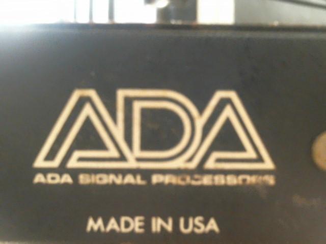ADA SIGNAL PROCESSOR