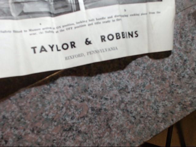 TAYLOR & ROBBINS
