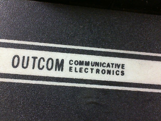 OUTCOM COMMUNICATIVE ELECTRONICS