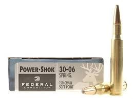 FEDERAL AMMUNITION Ammunition POWER SHOCK 30-06