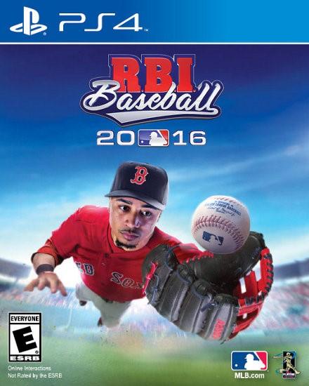 SONY Sony PlayStation 4 Game PS4 RBI BASEBALL 2016