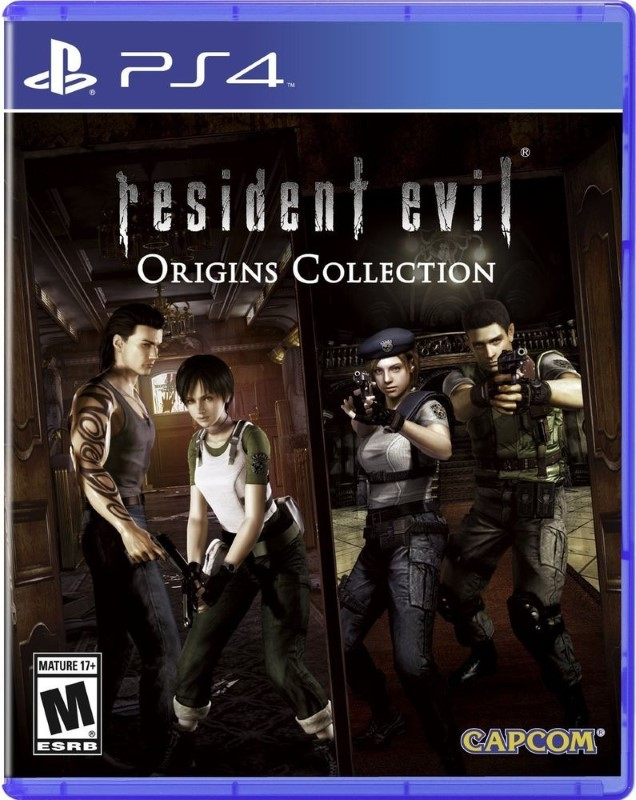 SONY Sony PlayStation 4 Game RESIDENT EVIL ORIGINS COLLECTION PS4