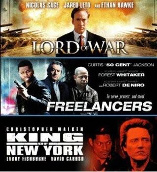 BLU-RAY MOVIE Blu-Ray LORD OF WAR - FREELANCERS - KING OF NEW YORK