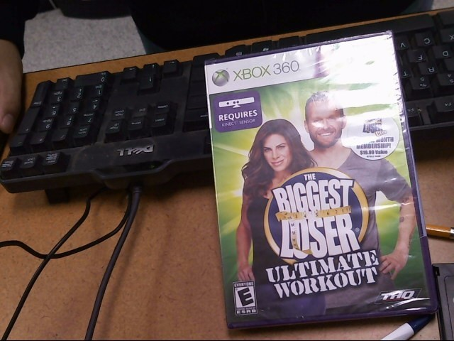 MICROSOFT Microsoft XBOX 360 Game THE BIGGEST LOSER ULTIMATE WORKOUT