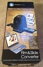 INNOVATIVE TECHNOLOGY FILM AND SLIDE CONVERTER
