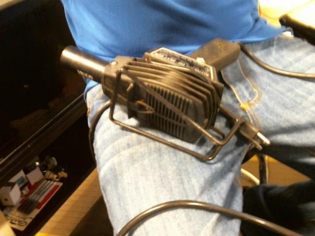 MASTER-MITE Cement Heat Gun 10012