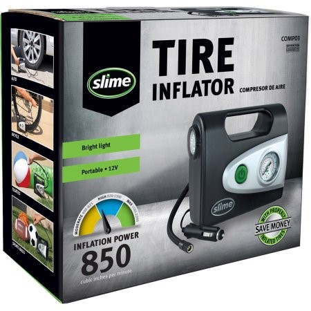 SLIME Air Compressor TIRE INFLATOR