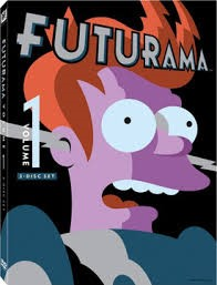 DVD FUTURAMA VOLUME 1