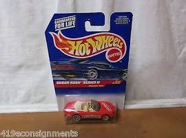 MATTEL Classic Toy HOT WHEELS SUGAR RUSH SERIES II JAGUAR XK8