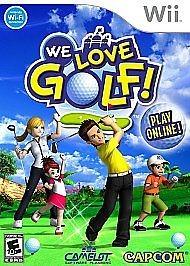 NINTENDO Nintendo Wii Game WE LOVE GOLF WII