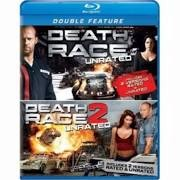 BLU-RAY MOVIE Blu-Ray DEATH RACE / DEATH RACE 2 UNRATED