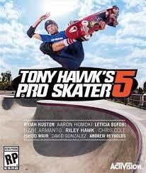 SONY Sony PlayStation 3 Game PS3 TONY HAWK PRO SKATER 5