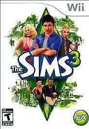 NINTENDO Nintendo Wii Game THE SIMS 3 WII